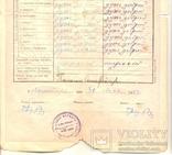 Повідомлення шкільне Коломия табель 3 шт 1922-1923-1924/5, фото №3