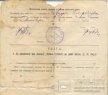 Повідомлення шкільне Коломия табель 3 шт 1922-1923-1924/5, фото №4