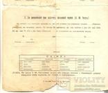 Повідомлення шкільне Коломия табель 3 шт 1922-1923-1924/5, фото №5