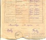Повідомлення шкільне Коломия табель 3 шт 1922-1923-1924/5, фото №7