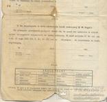 Повідомлення шкільне Коломия табель 3 шт 1922-1923-1924/5, фото №13