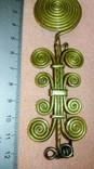 Реплика Фибула средний бронзовый век 1600-1200 до н.э., фото №4