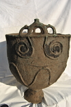 Орнаментированный литой котел, Савроматы или Скифы конец 6 начало 4 века до н.э photo 1