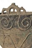 Орнаментированный литой котел, Савроматы или Скифы конец 6 начало 4 века до н.э photo 2