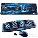 Комплект UKC HK8100 беспроводные клавиатура и мышь photo 9