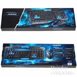 Комплект UKC HK8100 беспроводные клавиатура и мышь photo 12
