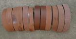 Тормозные колодки разных размеров СССР с деревянным ящиком с рукояткой., фото №4