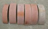 Тормозные колодки разных размеров СССР с деревянным ящиком с рукояткой., фото №8
