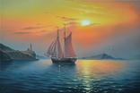 Рассвет в гавани, фото №2