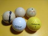 Мячи для гольфа 5 шт.