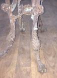 Остатки бронзового столика на львиных лапах photo 4
