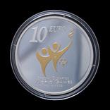 10 Евро 2003 Специальная Олимпиада, Ирландия Позолота