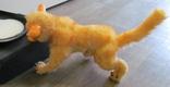 Интерьерная игрушка ручной работы , Кошечка