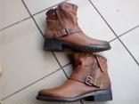 Ботинки Bama из натуральной кожи (размер-42/27) photo 1