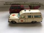 Старые Две машины одним лотом, скорая помощь и пожарная