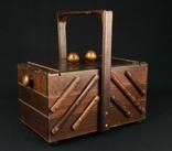 Ящик для шитья и рукоделия. Европа. (0652)