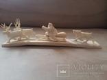 Статуетка из кости