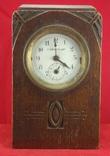Настольные часы будильник «Г. Мозеръ и К», механизм (LENZKIRON). photo 1