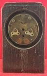 Настольные часы будильник «Г. Мозеръ и К», механизм (LENZKIRON). photo 4