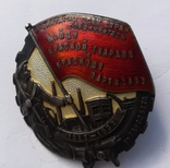 """Знак """"Бойцу красной гвардии и красному партизан 1917-1932"""" От Ленсовета. photo 6"""