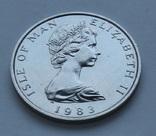 Платиновый 1 нобль 1983г Елизавета II Остров Мэн унция 31.16 г