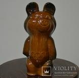 Олимпийский мишка копилка 28см. photo 1