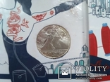 10 евро серебро Франция 4 шт. =40 ЕВРО, фото №2
