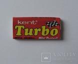 Нераспечатанная жвачка Турбо Turbo 1990 года, 2ая серия (вкладыши 51-120)