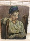 Фрумак Р. 1925г. Школа Шагала,Юрия(Иегуды)Пэна и Роберта Фалька.Музейный уровень.