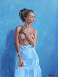 ''Нежность'' Картина60х45см Виктор Олейник масло/холст