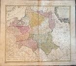 Карта Польши 1773 год. Издание Homannianos Heredes (наследники)