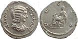 Денарий Юлия Домна 218 г н.э. (24_26)