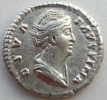 Денарий Diva Фаустина I 141 г н.э. (24_28) фото 3