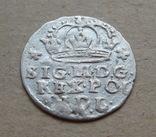 Коронный грош 1623 года. Сиг. ІІІ Ваза ( лот 2 ). photo 2