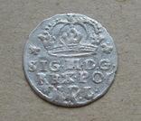 Коронный грош 1623 года. Сиг. ІІІ Ваза ( лот 2 ). photo 4