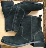 Замшевые ботинки sole comfort