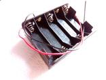 Холдер под 10 акумуляторів АА