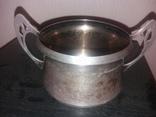 Серебреная посудина 84 проба