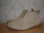 Jack & Jones ботинки замшевые 42 размер Новые