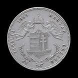 1 Форинт 1869 К.В. Ангелы, Австро-Венгрия