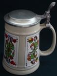 Коллекционная пивная кружка Керамика Германия