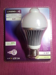 Лампочка Livarno Е27 led датчик движения темнота
