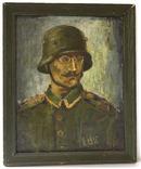 """Картина """"Німецький солдат"""""""