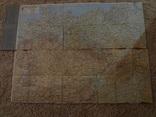 1940 Огромная Карта Автобанов Нацистской Германии 115 на 89 см.