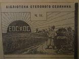 1926 Бібліотека Українського Степового Селянина багато фото
