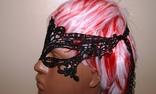 Кружевная карнавальная маска photo 8