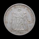 5 Франков 1873 А Геркулес и Музы, Франция