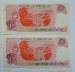 1 Песо Аргентина - 10 штук ., photo number 10