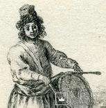 Эскизы тушью к гравюрам? середина 18 века. Жан Батист Лепренс, фото №8