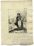 Эскизы тушью к гравюрам? середина 18 века. Жан Батист Лепренс, фото №13